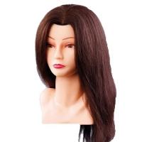 Голова – манекен 70 см натур волосы