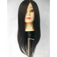 Голова – манекен для причесок 60 см натур волосы
